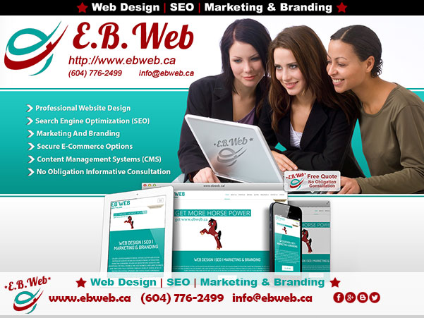 Web Design - SEO – Ecommerce – Marketing – Branding – Content Management Systems