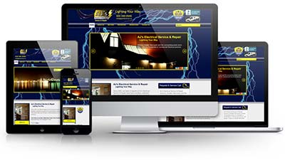 AJ's Electrical Service & Repair E.B. Web Recent Web Design Project