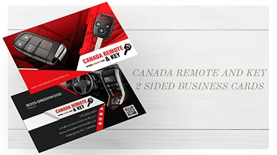 Canada Remote And Key E.B. Web Recent Print Design Project Details
