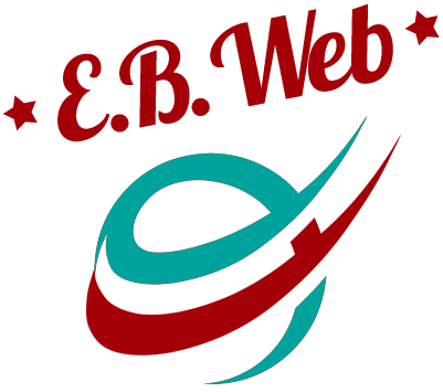 E.B. Web Design Logo