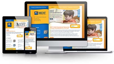 MDT Child Educational Resources E.B. Web Recent Web Design Project Details