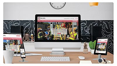 Red Seal Electric E.B. Web Recent Web Design Project Details