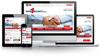 Total 1 Security E.B. Web Recent Web Design Project Details